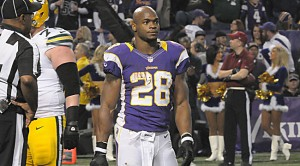 Adrian Peterson helped Bob Lung finish first overall in the regular season.